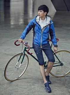 Kim Soo Hyun - Bean Pole Outdoor S/S 2015