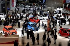 General view during the press day of the Geneva Motor Show.