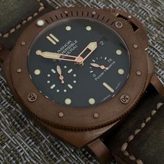 My bro @illgt2 reminding me that I haven't given the #Panerai PAM507 Bronzo love recently. #PaneraiCentral