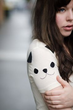 panda shoulder #style #fashion #streetstyle