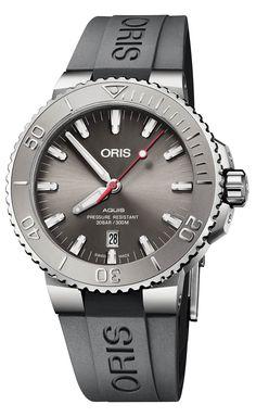 bf35ab146d660 Oris Aquis Date Relief, la montre de plongée qui raconte l'histoire de l'eau