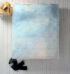 Blue Duvet Watercolor Duvet Queen Duvet King Duvet Twin