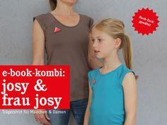 Patroon kleding - FrauJOSY & JOSY Trägershirts im Partnerlook... - Een uniek product van schnittreif op DaWanda