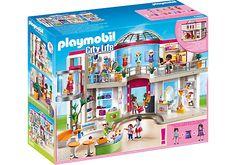 Compleet ingericht Winkelcentrum - PLAYMOBIL® Nederland