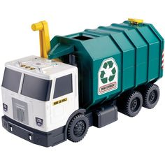 Matchbox Large Garbage Truck by Mattel, Multicolor