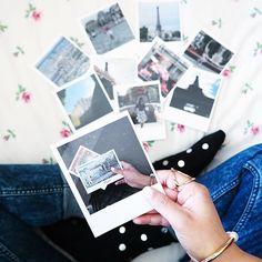 """Bon Jour meine Lieben  ich habe meine Lieblingsbilder aus Paris im Polaroid Style drucken lassen. Dabei sind sogar Bilder von mir, als ich noch fünf Jahre alt war und vor dem Schloss Versailles stand  Auch ihr könnt eure schönsten Momente in Polaroidfotos verwandeln. Einfach die App Polapix by clixxie auf euer Handy runter laden, die Bilder aus eurem Handy oder aus Instagram auswählen und fertig! Mit dem Code """"retro"""" könnt ihr zwei Polapix umsonst bestellen und der Versand ist inklu..."""