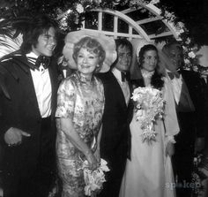 Lucy, Desi and Desi Jr at Lucie Arnaz's(Daughter/Sister) wedding. to Phil Vandervort (July 17, 1971 – 1977) and Laurence Luckinbill (June 22, 1980 – present), who is the uncle of Lana and Andy Wachowski.