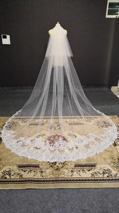 Wedding Tiara Veil, Bride Veil, Lace Wedding, Dream Wedding, Wedding Dresses, Cathedral Veils, Bridal Accessories, Photo Studio, Bridal Style
