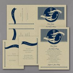 Nautical Style Sep 'n Send Wedding Invitation 40% OFF   |  7 PAPER OPTIONS  |  http://mediaplus.carlsoncraft.com/Wedding/Wedding-Invitations/3159-VZ37442KR-Nautical-Style--Sep-n-Send-Invitation--Kraft.pro
