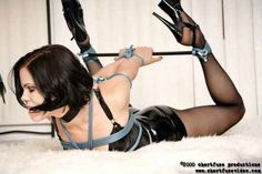 rope and a spreader bar