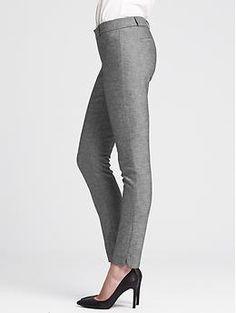 Work pant- Sloan-Fit Charcoal Slim Ankle Pant | Banana Republic