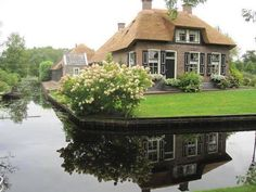 Giethoorn Holland. The Village Without Roads Only Canals & Bike Trails