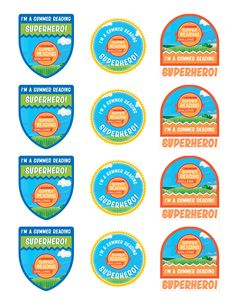 Are your students participating in the 2016 Summer Reading Challenge? Use these sticker sheets to celebrate their pledge to commit to reading this summer! Click to learn more. #summerreading