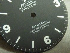 Ref.1016 Tiffany W name dial remake