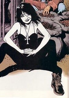 Neil Gaiman and Mike Dringenberg's Death from Sandman