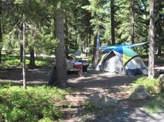Eastern Oregon:  Malheur National Forest: Strawberry Campground: Upper John Day River area: 1 sites: Open may-oct: $8