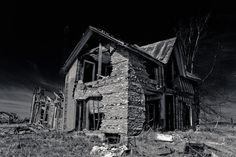 County Road 14 Stirling old rundown farm house