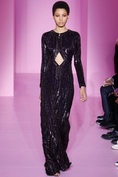 Givenchy | Spring/Summer 2016 Couture Collection via Designer Riccardo Tisci | Modeled by Lineisy Montero | January 27, 2016; Paris