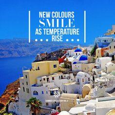 Zeen Summer Volume II - In stores & Online  **Friday 10th April  #Zeen   #Summer   #Mediterranean   #Santorini   #Lawn