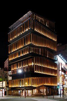 akasaka culture center, tokyo/kengo kuma (480×721)