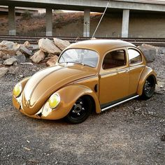 Bad-ass VW Beetle