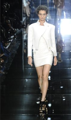 Tom Ford RTW Spring 2014  Love Tom Ford, Love the all white  London Fashion week