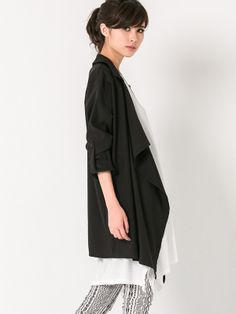 Draped Trench Coat $35.60 Purchase over $55 and get Extra 10% OFF on this product.Use Code: EXTRA10