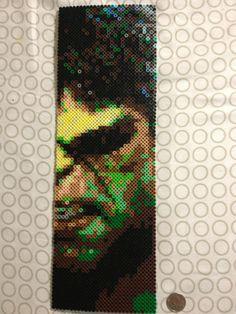Hulk Wall Decal perler beads by Sinister Studios