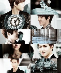 Fairytale edit - Prince Charming (Cinderella) - EXO/Suho