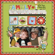 1. Cooking Time Kit by Thaty Borges Designs & Kristin Aagard  2. Peace Of My Heart Template 4 by Kay Miller Designs