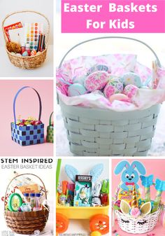 Unique Easter basket ideas for kids of various ages and interests