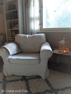 XL Cheap & Chic: Pienistä asioista iloa - Sometimes all you need is. Porch, Armchair, Chic, House, Furniture, Home Decor, Balcony, Sofa Chair, Shabby Chic