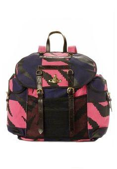 Pink Tiger Rucksack