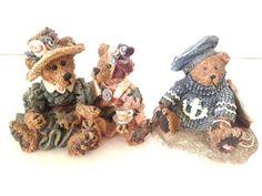 Boyds Bears 1995 Emma Bailey Afternoon Tea & 1993 Christian