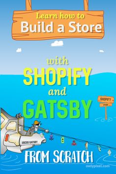 In this article, we're going to build a Gatsby store with Shopify from scratch. Our Gatsby site is going to pull the product information from Shopify and display it on the page. We're also going to use a shopify-buy plugin for the checkout process.