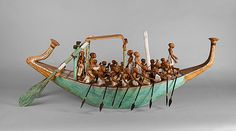 Funerary Boat Being Rowed [Egyptian] (20.3.5) | Heilbrunn Timeline of Art History | The Metropolitan Museum of Art