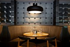 'Touch' concrete tile design by Zsanett Kincses I KAZA Concrete Wall Lights, Ceiling Lights, Concrete Tiles, Tile Design, Surface Design, Backsplash, Wall Decor, It Is Finished, Restaurant