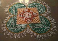 Free Hand Kolam Rangoli Designs