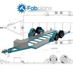 Airbag Car Trailer Plans-DIY-Build your own lowering race car trailer - CDROM Car Hauler Trailer, Atv Trailers, Custom Trailers, Trailers For Sale, Welding Trailer, Trailer Diy, Trailer Build, Teardrop Trailer Plans, Trailer Suspension