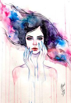 cosmos by BlackFurya