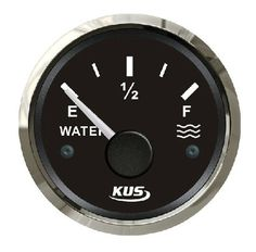 64.60$  Buy here - http://ali7ca.worldwells.pw/go.php?t=32661769643 - 52mm pointer style water/liquid tank level gauge for vehienlar marine yacht motorcycle boat car instrument acessories (0-190ohm)