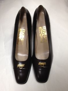 Salvatore Ferragamo New Brown Low Heel Sz 6aa Classic Dark Brown Pumps. Get the must-have pumps of this season! These Salvatore Ferragamo New Brown Low Heel Sz 6aa Classic Dark Brown Pumps are a top 10 member favorite on Tradesy. Save on yours before they're sold out!