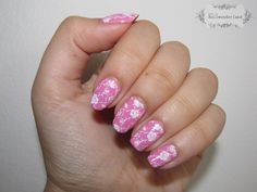 golden rose rich color 69 nail polish + moyou london pro collection nail stamping