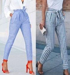 44 Amazing Summer Pants To Inspire You Spring Outfits, Winter Outfits, Casual Outfits, Cute Outfits, Casual Clothes, Fashion Pants, Fashion Outfits, Ootd Fashion, Street Fashion