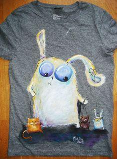 fe4cbdf8a4c 89 Best T-Shirt Art Fabric Painting images