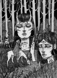 "odaiselin: "" Forest gods """