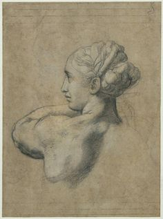 Head of a Woman, 1520, Raphael