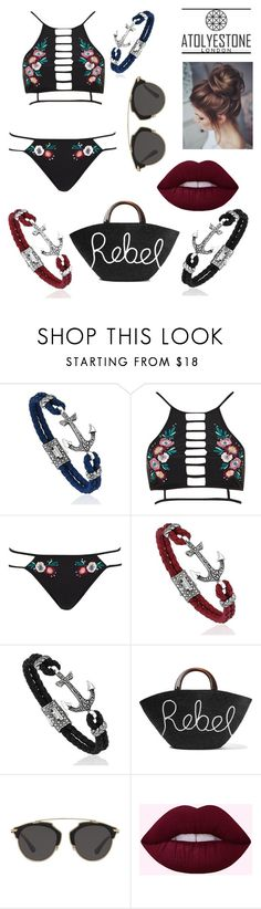 """Sin título #250"" by ana28928 ❤ liked on Polyvore featuring River Island, Eugenia Kim and Christian Dior"