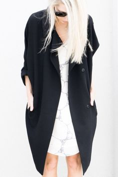 obsessed with the duster coat style, but attempting to find a way to wear it on my frame/height.