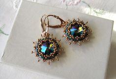 Beaded Tassel Earrings, Seed Bead Earrings, Beaded Jewelry, Dangle Earrings, Fine Jewelry, Jewelry Making, Tatting Jewelry, Earring Tutorial, Jewelry Patterns